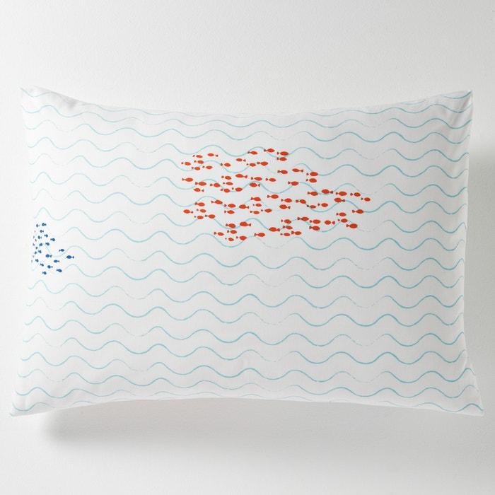 Image Taie d'oreiller, carrée ou rectangulaire, Lagostime La Redoute Interieurs
