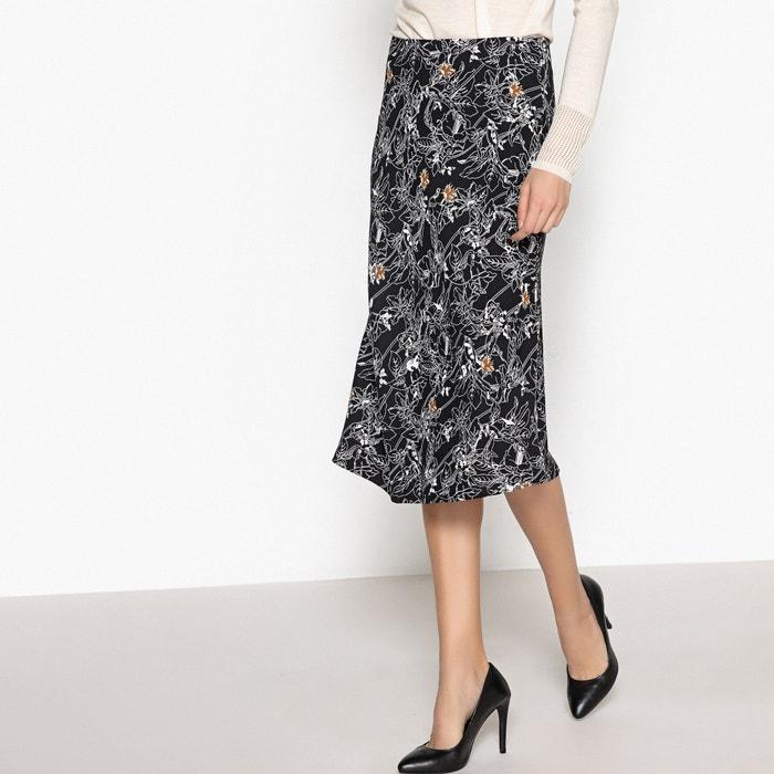 Printed Midi Skirt  La Redoute Collections image 0