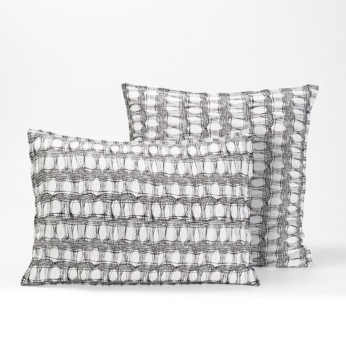 taie d 39 oreiller fred et ginger design v barkowski imprim am pm la redoute. Black Bedroom Furniture Sets. Home Design Ideas