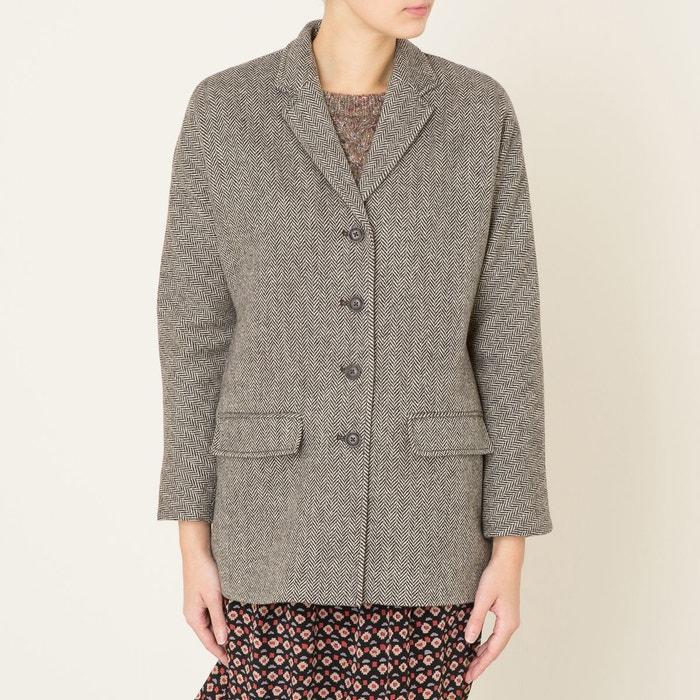08059f76246 Manteau tweed beige Denim And Supply Ralph Lauren