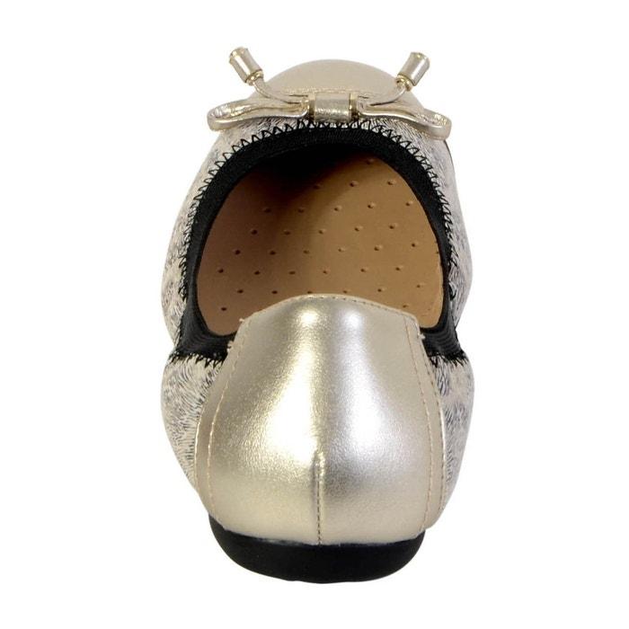Ballerine lola platinium lt gold gris Geox