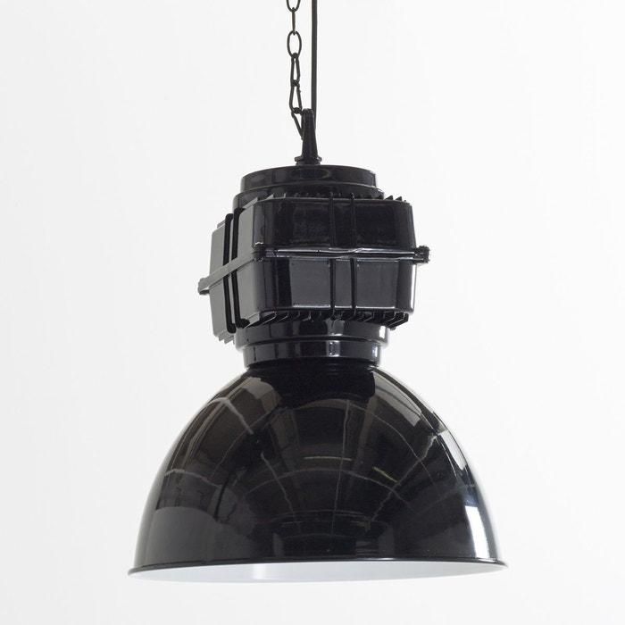 suspension style industriel werklar noir la redoute. Black Bedroom Furniture Sets. Home Design Ideas