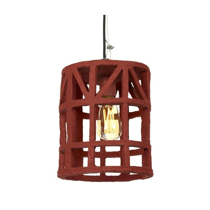 Lampe Papier 23 Diam Small Earth Suspension Serax Rouge Cm Mâché 4L3Aj5R