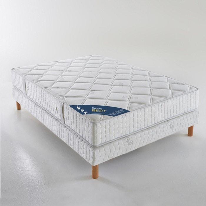 matelas ressorts ensach s grand confort ferme 5 blanc reverie la redoute. Black Bedroom Furniture Sets. Home Design Ideas