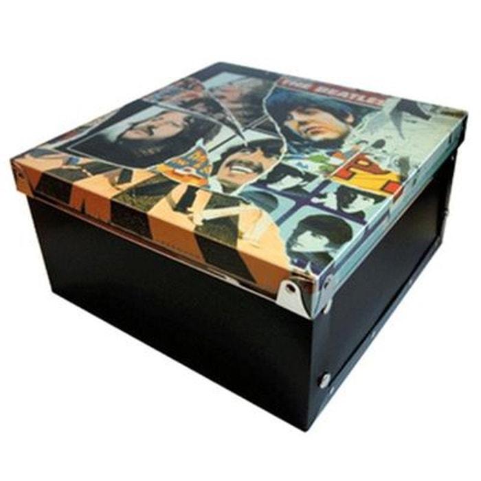 petite boite de rangement avec couvercle beatles couleur. Black Bedroom Furniture Sets. Home Design Ideas