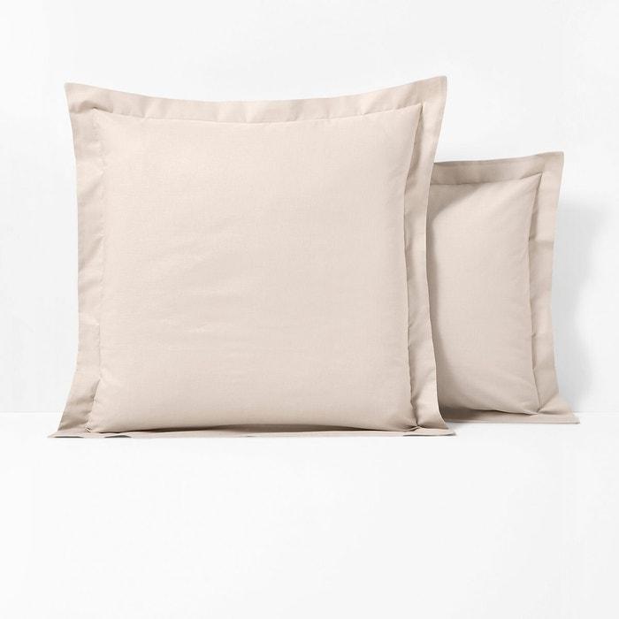 taie oreiller scenario Taie d'oreiller polyester/coton à volant Scenario | La Redoute taie oreiller scenario