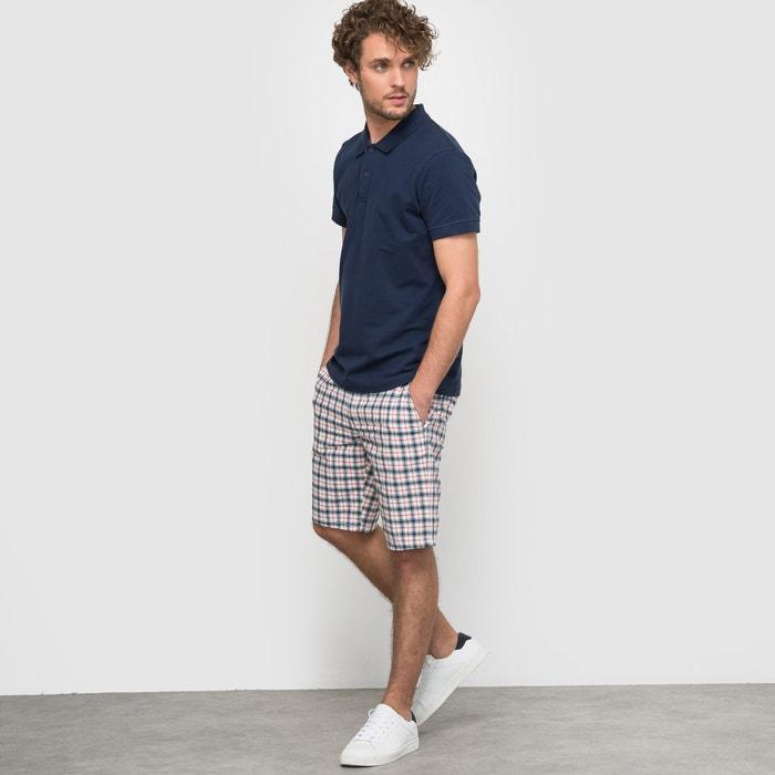 Image Plain Short-Sleeved Pure Cotton Piqué Polo Shirt R édition