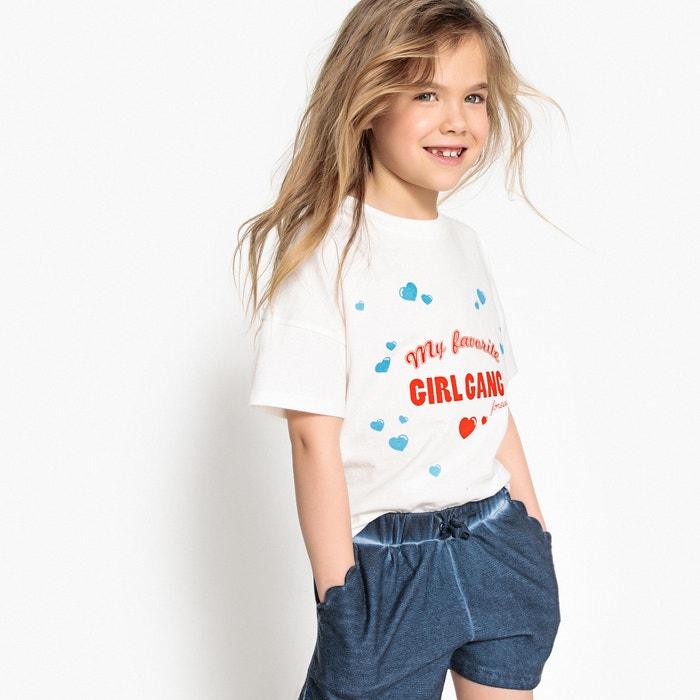T-shirt con motivo magico da 3 a 12 anni  La Redoute Collections image 0