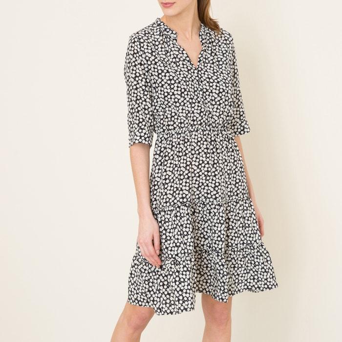 afbeelding Bedrukte jurk exclusief Brand Boutique GERARD DAREL