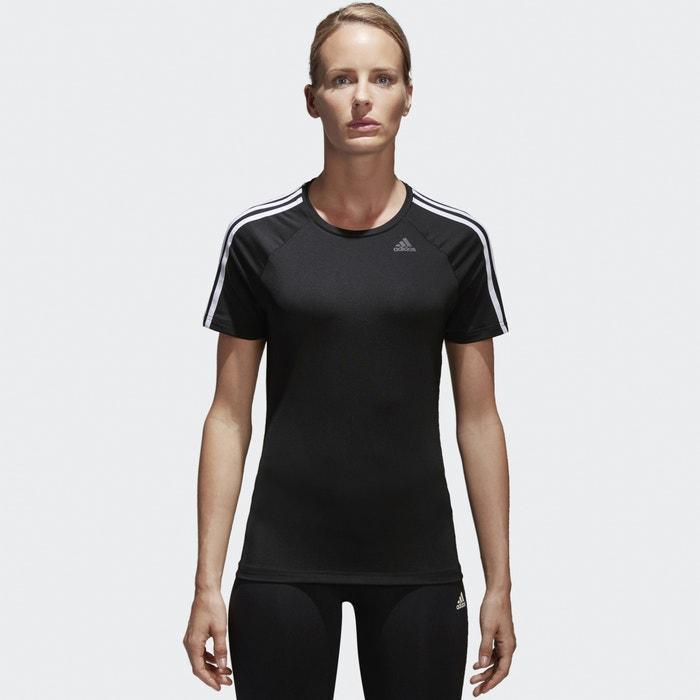 BK2682 Design 2 Move 3-Stripes Training T-Shirt  ADIDAS PERFORMANCE image 0