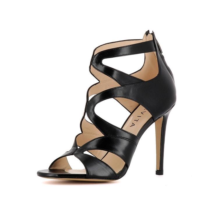 femme sandales bas plus Nouveaux EVITA prix n70pngS