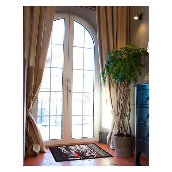 paillassons paillasson sneakers polyamide rouge un amour de tapis la redoute. Black Bedroom Furniture Sets. Home Design Ideas