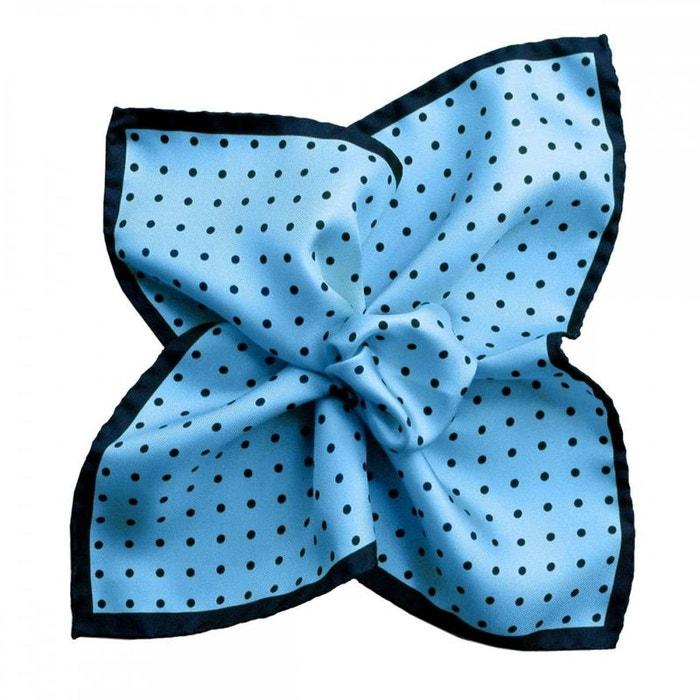 Pochette soie, segni & disegni, dandy ciel marine bleu Segni Et Disegni | La Redoute
