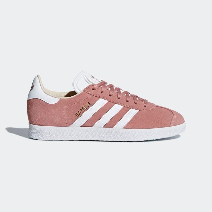 adidas gazelle rose femme