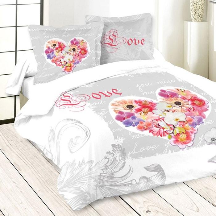 parure de lit youmissme 240 x 220 cm storex la redoute. Black Bedroom Furniture Sets. Home Design Ideas