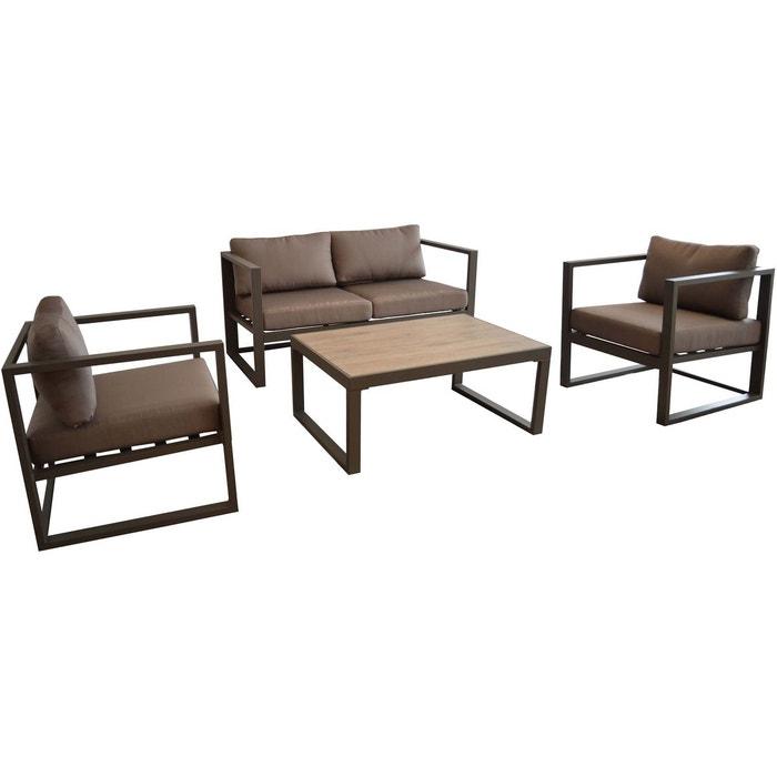 salon de jardin en aluminium manhattan proloisirs la redoute. Black Bedroom Furniture Sets. Home Design Ideas