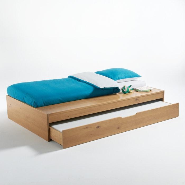 ausziehbares kinderbett yann mit bank eiche la redoute interieurs la redoute. Black Bedroom Furniture Sets. Home Design Ideas