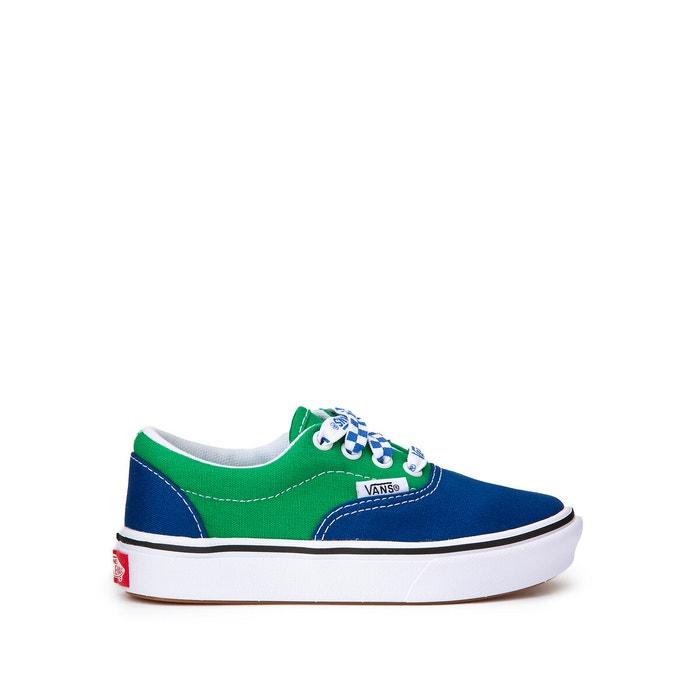 comfycush era trainers blue/green Vans