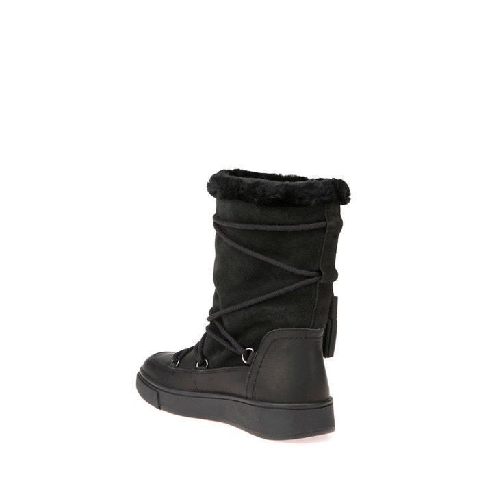 Boots fourrés mayrah noir Geox