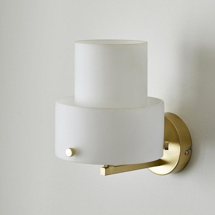 applique twin blanc the socialite family la redoute. Black Bedroom Furniture Sets. Home Design Ideas