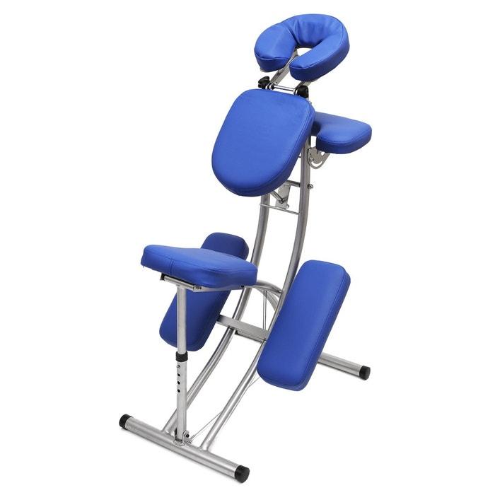 chaise de massage en aluminium ultra l g re couleur unique yogistar la redoute. Black Bedroom Furniture Sets. Home Design Ideas