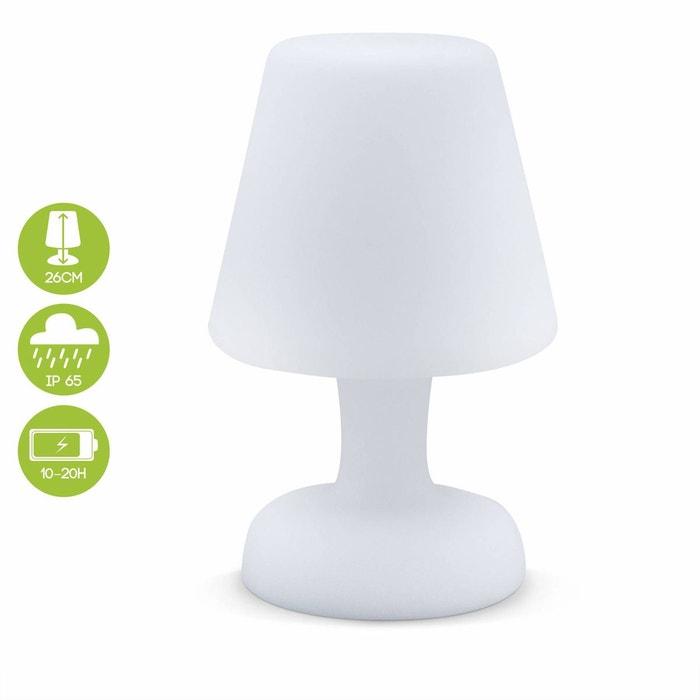 Lampe De Table Led Forme Lampe 26cm Luminaire Exterieur Resistant A