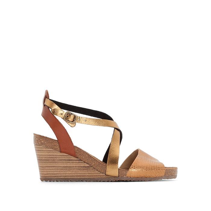Sandálias de cunha em pele, SPAGNOL  KICKERS image 0