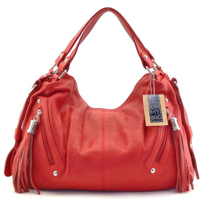 ff30eed1a0 Sac à main cuir arizona Oh My Bag | La Redoute