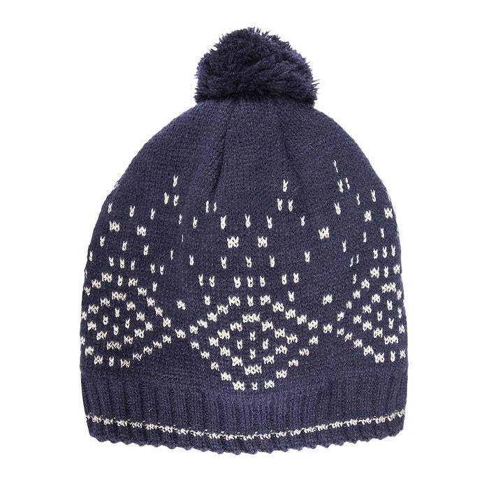 Bonnet enfant jacquard géométrique Fil textile ISOTONER image 0. Ce produit  a bien été ajouté à votre liste de préférés. 2e0ac33d5ef