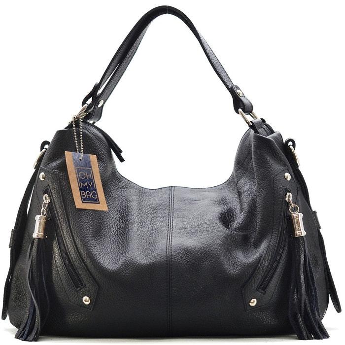 Sac à main cuir arizona Oh My Bag   La Redoute 56486697f972