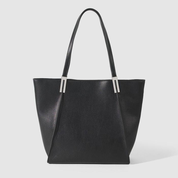 sac main cabas noir esprit la redoute. Black Bedroom Furniture Sets. Home Design Ideas
