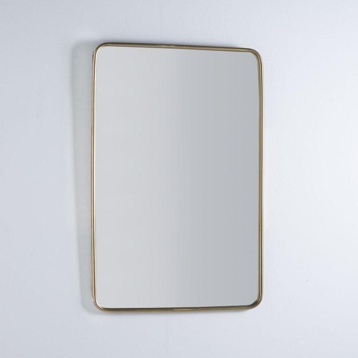 Miroir vintage iodus laiton la redoute interieurs la for Se voir dans un miroir