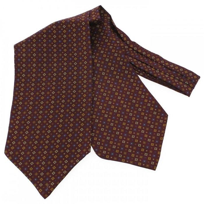 Jacques hubert, foulard ascot soie, sofia rouge sang rouge Tony Et Paul | La Redoute