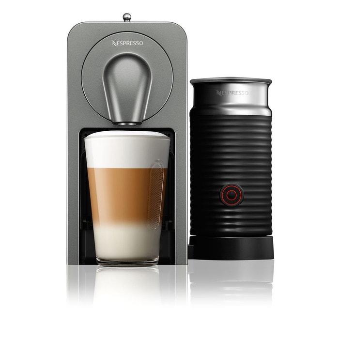 Nespresso prodigio milk yy5101fd titane krups en solde la redoute - Solde machine a cafe ...