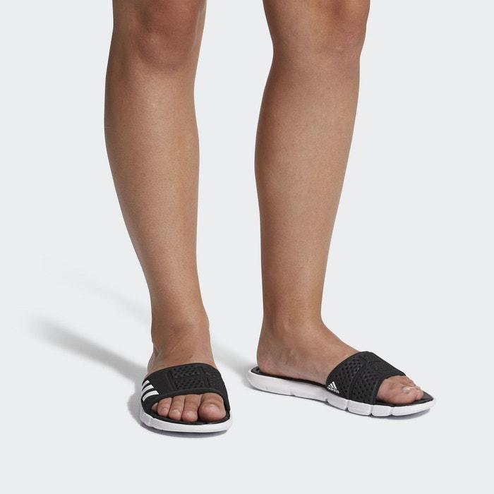 Sandales adipure cloudfoam noir Adidas Performance