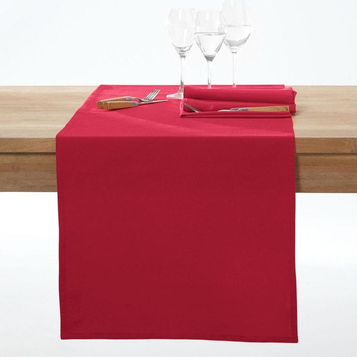 Chemin de table coton enduit anti-taches SCENARIO