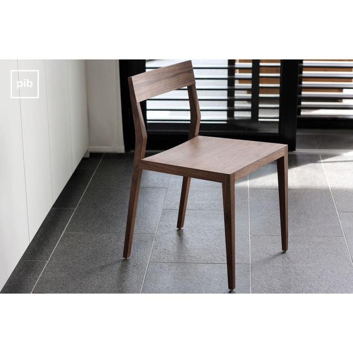 chaise n ten en noyer couleur unique produit interieur. Black Bedroom Furniture Sets. Home Design Ideas