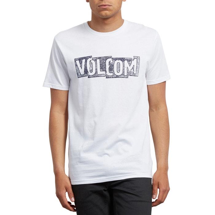 corta Camiseta cuello manga de VOLCOM redondo fCRcPqCxw