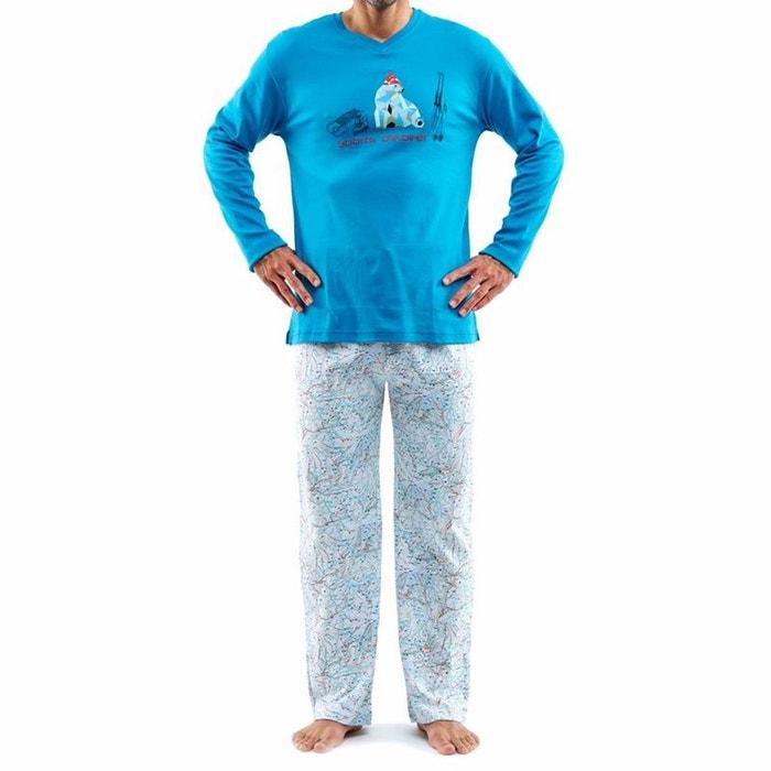 pyjama homme bear multicolore arthur la redoute. Black Bedroom Furniture Sets. Home Design Ideas