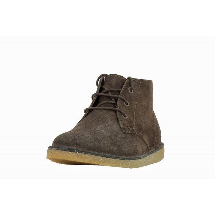 89e5980e687 Boots bradshaw chuk 316 daim marron Lacoste