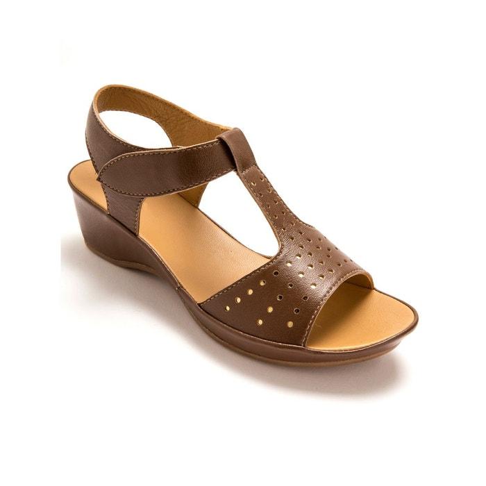 Sandales ultra souples  marron moyen Pediconfort  La Redoute