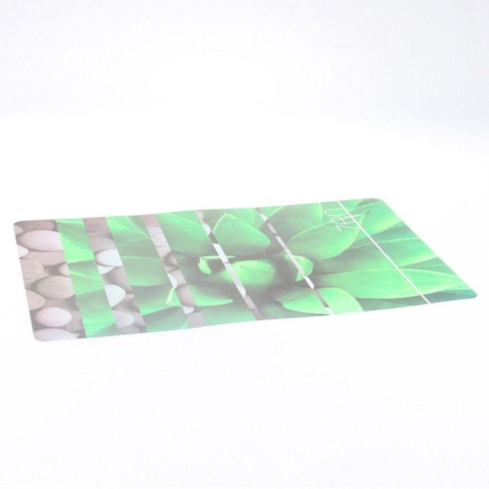 Set de table rectangulaire design zen vert vert b et w - Table de cuisine la redoute ...