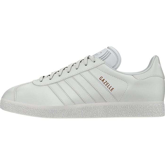 Baskets gazelle blanc Adidas Originals Achat De Sortie Des Prix 2DiBNobc