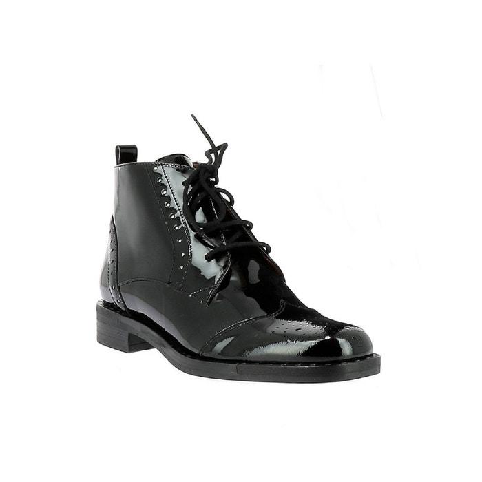 Chiva Redoute Stuart Elizabeth 305 Noir A La Lacets Chaussures 6nwEHw