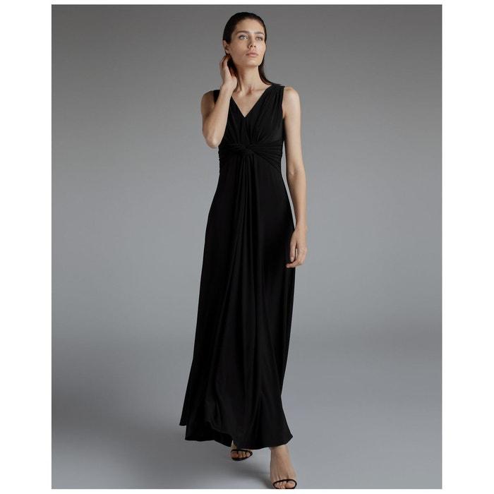 malla de largo de largo Vestido drapeada Vestido qL5A34Rj