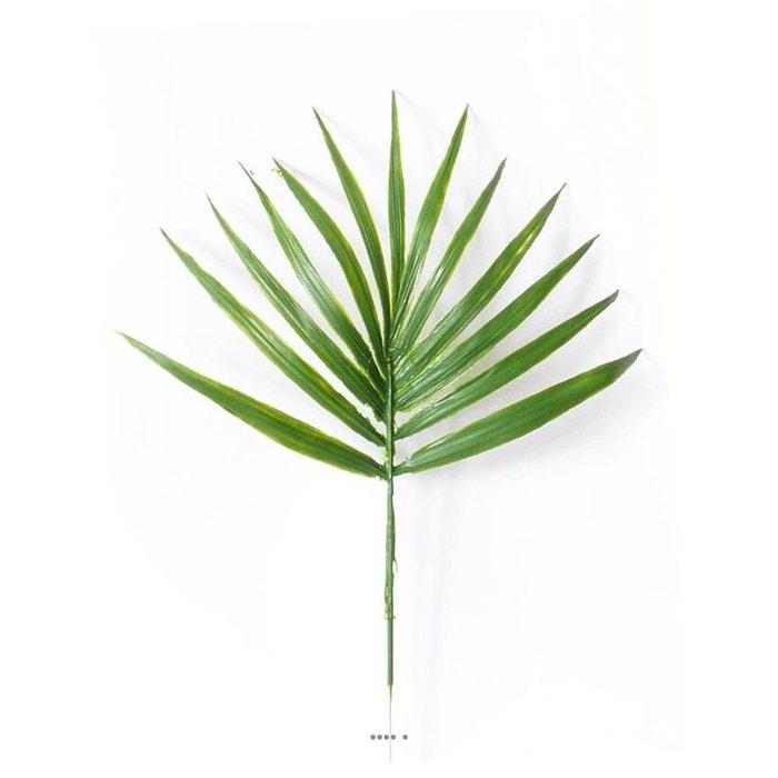 Feuille palmier chamaerops artificielle h 44 cm d 32 cm for Feuille palmier artificiel