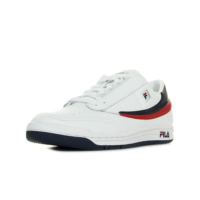 info for c9fc9 94646 ... Baskets homme original tennis blanc bleu marine rouge Fila La Redoute