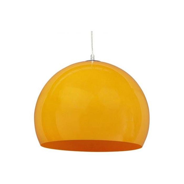 suspension vintage orange kylas orange declikdeco la redoute. Black Bedroom Furniture Sets. Home Design Ideas