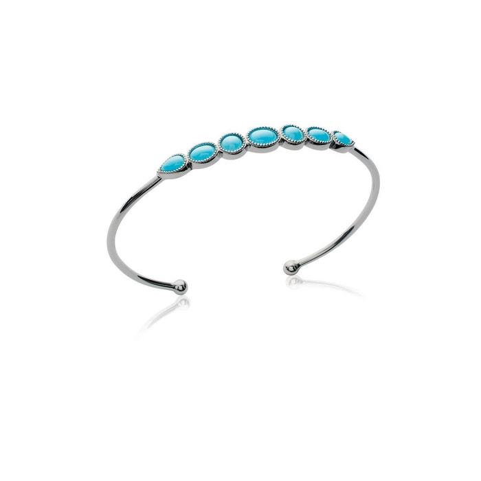 Jeu Manchester Grande Vente Offres Pour La Vente Bracelet jonc '7 pierres bleues' argent Lorenzo R | La Redoute Acheter La Vente En Ligne Livraison Gratuite Vraiment Pas Cher Vente Site Officiel Aad22e