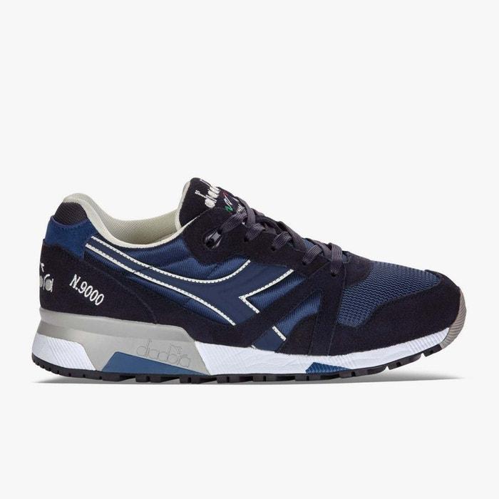 online store e60aa 5a36e Diadora N9000 NYL II Dark blue Bleu - Chaussures Baskets basses Homme  WNR775MN - destrainspourtous.fr